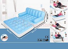 Надувной диван-трансформер Intex 5 в 1