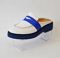 Женские белые сабо Aquamarine 4355