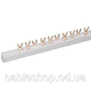 Шина соединительная FORK (вилка) 1Р 100А длина 1м IEK