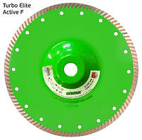 Алмазный диск с фланцем по граниту Distar 230мм, 22,2мм Elite Active