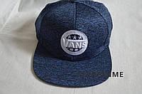 Кепка Vans мужская, Фирменная кепка Snapback