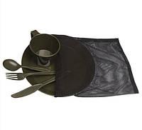 Набор полевой, туристической  посуды (5 предметов). Mil-Tec, Германия 14681000