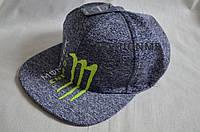 Кепка Monster мужская, Фирменная кепка Snapback