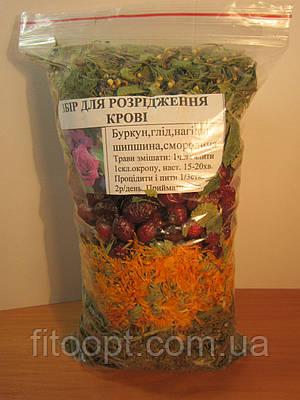 Народное средство  - травяной сбор для разжижения крови