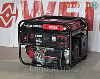 Бензиновый генератор Weima WM7000E (7 кВт, эл. старт), фото 1