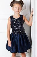 Пошив детских платьев из паетки