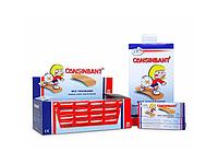 Пластир Cansinbant First Aid 19 мм*7,2 см ,№ 10,шт