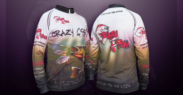 Регланты и футболки CRAZY FISH