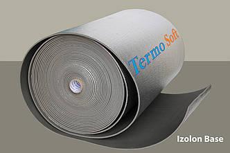 Тепло , шумоизоляция Izolon Base 08 фольгированный, полотно ППЭ НХ+фольга-8мм