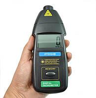 Лазерный бесконтактный тахометр Walcom DT-2234B (50-1500мм) (2,5-99999 об/мин) MAX, MIN, фото 1