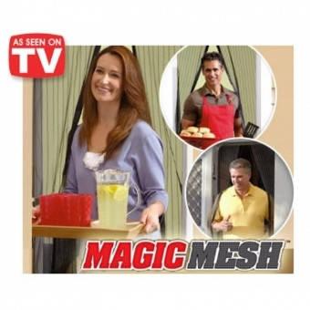Москитная сетка на магнитах magic mesh 210х100 см, фото 2