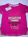 Яркие качественные Детские футболки на девочку Турция Размеры 104- 152, фото 2