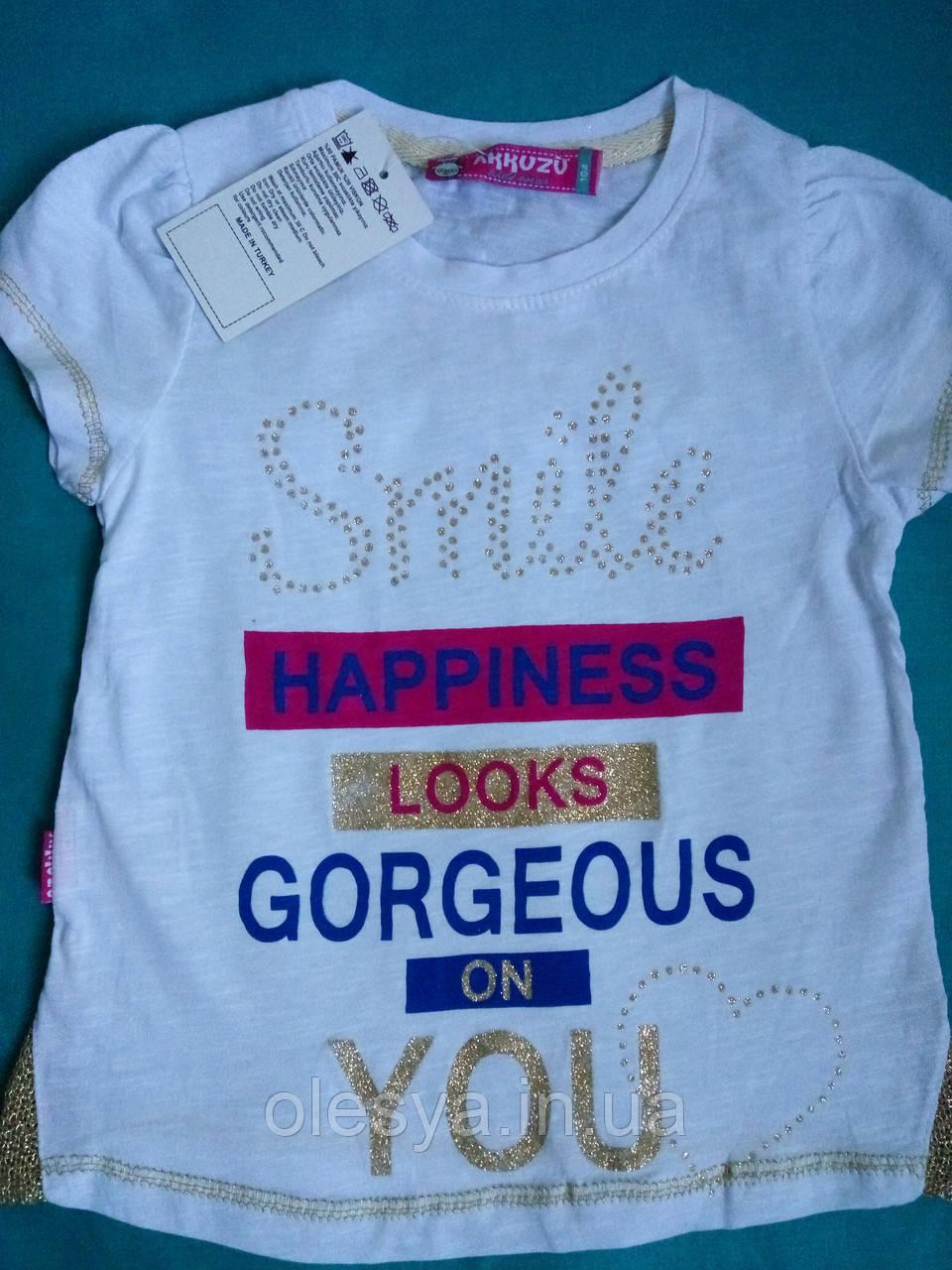 Детская футболка на девочку Турция Размеры 104- 152