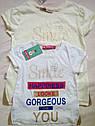 Яркие качественные Детские футболки на девочку Турция Размеры 104- 152, фото 5