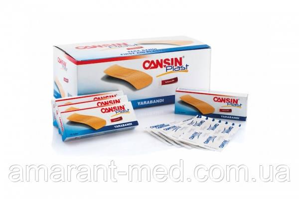 Пластир CansinPlast візерунковий 19 мм*7,2 см, № 20,уп.