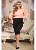 Женское платье на каждый день Лотос размер 48-72