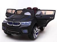 Электромобиль Джип BMW (J-040 черный),  р/у,  аккум.