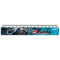 K17-090-3 Линейка пластиковая 15 см KITE 2017 Racing Night 090-3