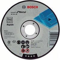 Диск отрезной Bosch по металлу 125 х 1.6