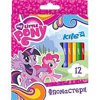 Фломастеры 12 цветов KITE 2017 My Little Pony 047 (LP17-047)