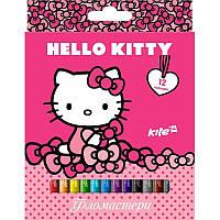 Фломастеры 12 цветов KITE 2017 Hello Kitty 047 (HK17-047)