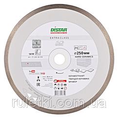 Алмазный диск по плитке Distar 250мм, 25,4мм Hard Ceramics