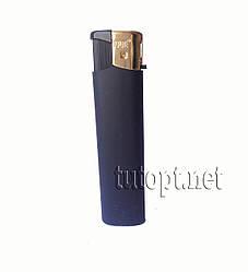 Зажигалка карманная газовая Toplite черная матовая