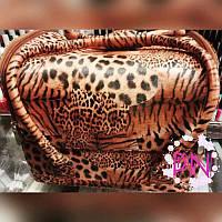 Чемодан мастера на змейке из эко-кожи Леопард YRE