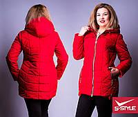 Женская куртка, весна-осень, от 52 до 58 размера