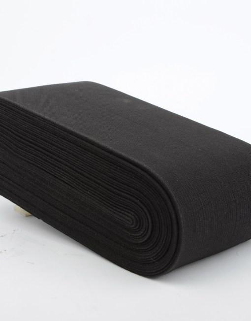 100 mm Elastic Tape / 10 m / Black
