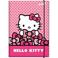Папка картонная для труда на резинке KITE 2017 Hello Kitty 213