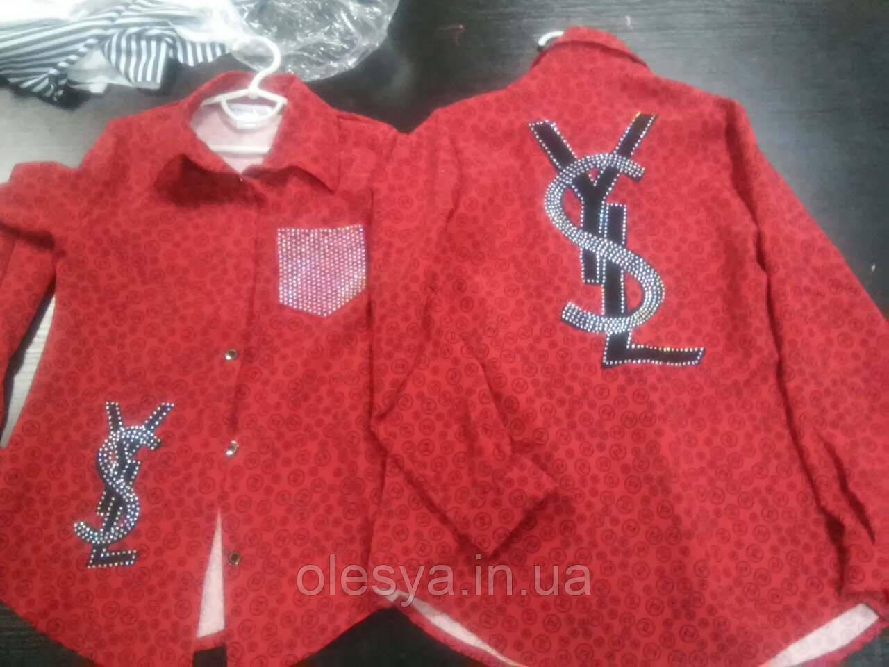 c8c0f8cbca7edfe Модная рубашка на девочку подростка Размеры 140- 158: продажа, цена ...