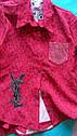 Модная рубашка на девочку подростка Размеры 140- 158, фото 3