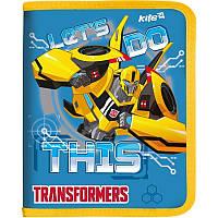 Папка объемная на молнии В5 KITE 2017  Transformers 203