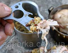 Многофункциональная ложка- мультитул выживания CRKT Eat'N Tool EDC, фото 3
