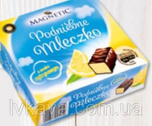 Конфеты птичье молоко с лимонным вкусом Magnetic Podniebne Mleczko  , 500 гр, фото 2