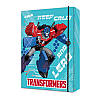 TF17-210 Папка картон для тетрадей на резинках В5 KITE 2017 Transformers 210