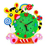 Детское творчество поделка часы собери сам* с тигрёнком тигром набор для творчества