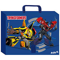 Портфель-папка на застежке А4 KITE 2107 Transformers 209