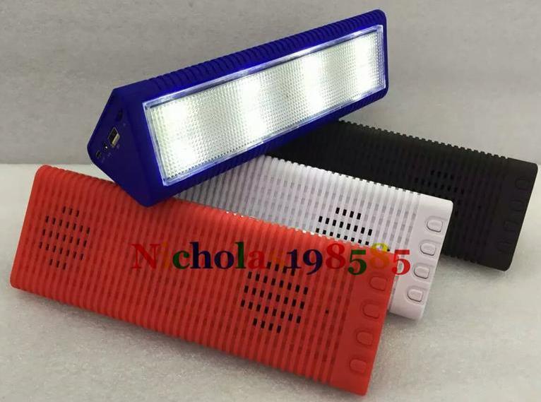 CH-399L стерео Bluetooth колонка с LED фонарем