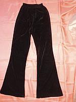 Спортивные велюровые брюки на девочку