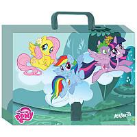 Портфель-папка на застежке А4 KITE 2107 My Little Pony 209