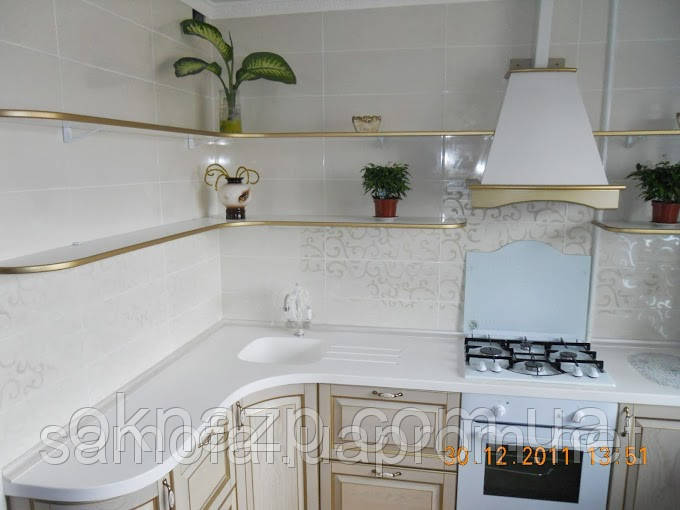 Столешницы кухонные, барные стойки (цена за литую мойку 2400грн./шт.)