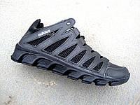 Кроссовки мужские летние кожа+сетка Adidas 40 -45 р-р