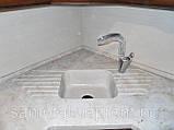 Стільниці кухонні, барні стійки (лита мийка+ 2700грн./шт. додатково), фото 4