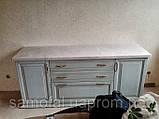 Стільниці кухонні, барні стійки (лита мийка+ 2700грн./шт. додатково), фото 5
