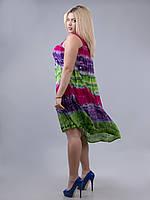 Платье свободное (ламбада) малиновое, фиолетовое, салатовое,  до 60-го размера