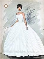 Схема для вышивания бисером Хрустальная невеста СЛ-3116