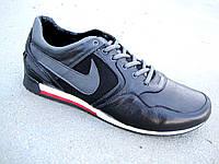 Мужские кроссовки большие размеры Nike кожа+замша 46-49 р-р, фото 1