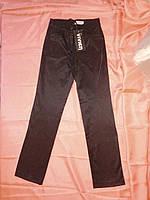 Тонкие атласные брюки на девочку